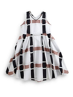 Marni - Toddler's & Little Girl's Modified Check Print Dress