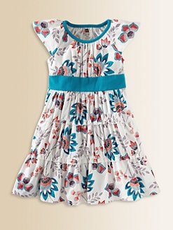 Tea Collection - Toddler's & Little Girl's Ardmore Floral Twirl Dress