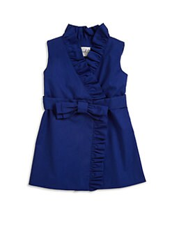 Milly Minis - Toddler's & Little Girl's Ruffled Wrap Dress