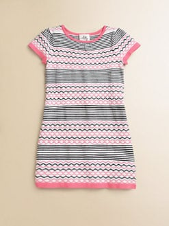 Milly Minis - Toddler's & Little Girl's Intarsia Sweater Dress