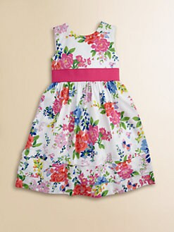 Hartstrings - Toddler's & Little Girl's Floral Sateen Dress