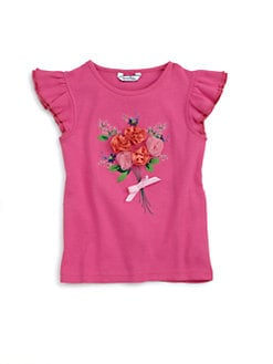 Hartstrings - Toddler's & Little Girl's Floral Top