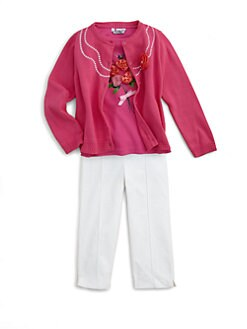 Hartstrings - Toddler's & Little Girl's Embellished Cardigan