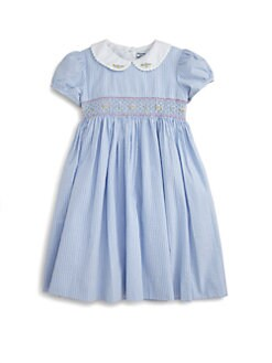 Hartstrings - Toddler's & Little Girl's Striped Seersucker Dress
