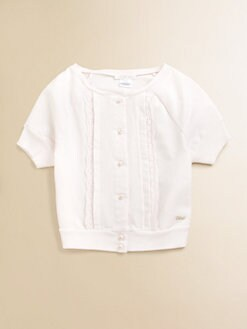 Chloe - Toddler's & Little Girl's Eyelet Top