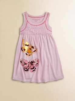 Design History - Toddler's & Little Girl's Butterfly Dress