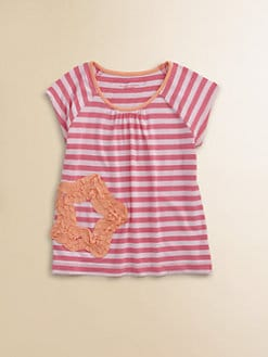 Design History - Toddler's & Little Girl's Striped Top