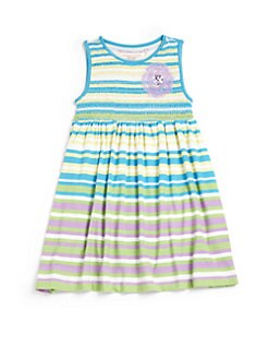 Design History - Toddler's & Little Girl's Striped Dress