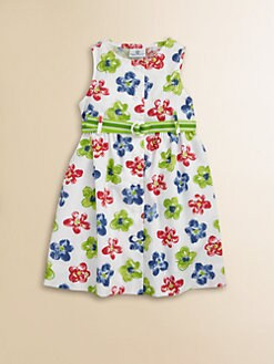 Florence Eiseman - Toddler's & Little Girl's Button-Front Floral Dress