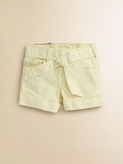 True Religion - Toddler's & Little Girl's Heidi Overdye Tie-Front Shorts