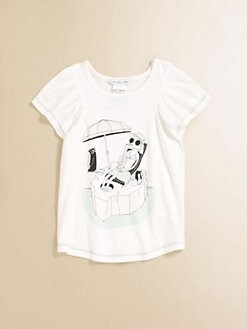 Little Marc Jacobs - Toddler's & Little Girl's Printed Flutter Shirt