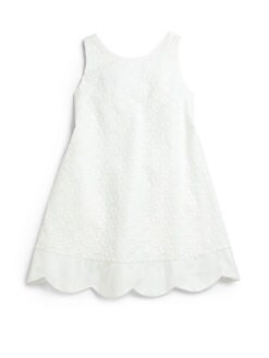 Anavini - Toddler's & Little Girl's Eyelet Dress