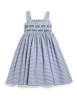 Anavini - Toddler's & Little Girl's Striped Sundress