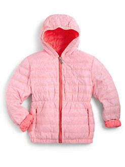 Add Down - Toddler's & Little Girl's Hooded Down Jacket