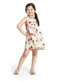 Milly Minis - Toddler's & Little Girl's Poppy Scarf Dress