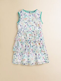 Milly Minis - Toddler's & Little Girl's Confetti Tiered Dress