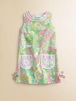 Lilly Pulitzer Kids - Toddler's & Little Girl's Little Lilly Classic Shift Dress