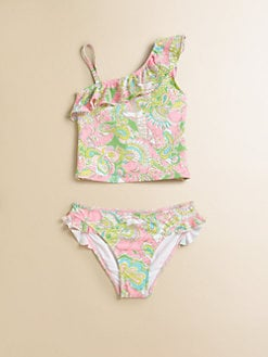 Lilly Pulitzer Kids - Toddler's & Little Girl's Two-Piece Clemson Tankini Set