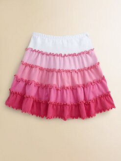 Love U Lots - Toddler's & Little Girl's Tiered Skirt