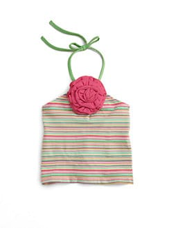 Love U Lots - Toddler's & Little Girl's Halter Top