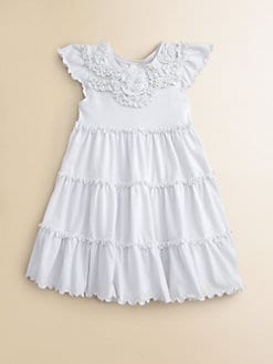 Love U Lots - Toddler's & Little Girl's Tiered Knit Dress