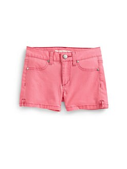Joe's - Toddler's & Little Girl's Denim Shorts/Papaya