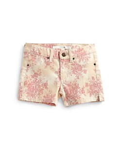Joe's - Toddler's & Little Girl's Rose-Print Shorts