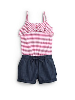 DKNY - Toddler's & Little Girl's Weekend Romper