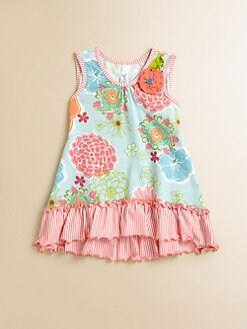 Love U Lots - Toddler's & Little Girl's Ruffle Tunic