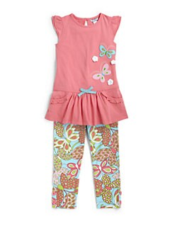 Hartstrings - Toddler's & Little Girl's Butterfly Tunic