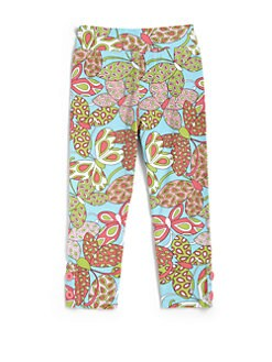 Hartstrings - Toddler's & Little Girl's Tropical Capri Leggings
