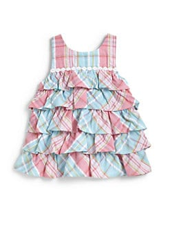 Hartstrings - Toddler's & Little Girl's Plaid Top