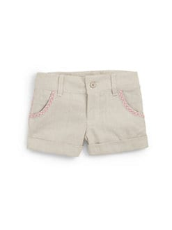 Hartstrings - Toddler's & Little Girl's Woven Cotton Shorts