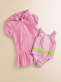 Cabana Life - Toddler's & Little Girl's Two-Piece Swim Set