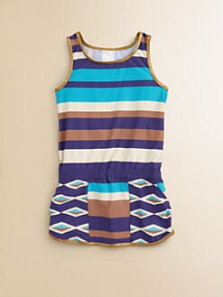 Little Marc Jacobs - Toddler's & Little Girl's Hayley Striped Cover-Up