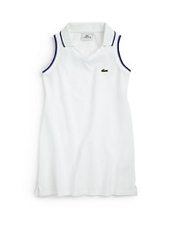 Lacoste - Toddler's & Little Girl's Super Dry Piqué Polo Dress