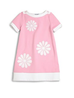 Hartstrings - Toddler's & Little Girl's Floral Ponte Dress