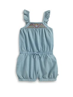 DKNY - Toddler's & Little Girl's Seaside Romper