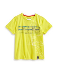 DKNY - Toddler's & Little Boy's Bay Parkway Tee