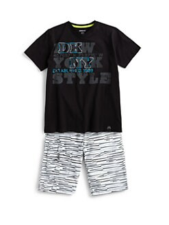 DKNY - Toddler's & Little Boy's Cotton City Tee