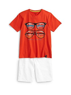 DKNY - Toddler's & Little Boy's Shade Tee
