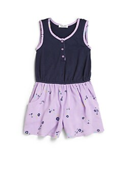 Splendid - Toddler's & Little Girl's Floral Tank Romper