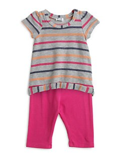 Splendid - Toddler's & Little Girl's Two-Piece Striped Tunic & Leggings Set