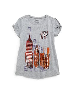 DKNY - Toddler's & Little Girl's Heart Of The City Tee