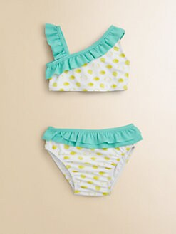 Egg Baby - Toddler's & Little Girl's Ruffled Two-Piece Swimsuit
