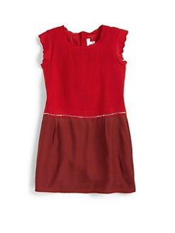 Chloe - Toddler's & Little Girl's Colorblock Crepe Dress