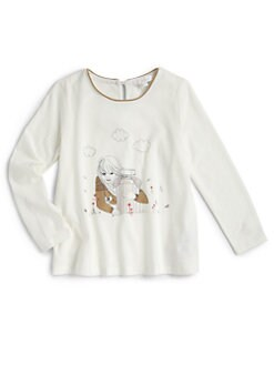 Chloe - Toddler's & Little Girl's Perfume Bottle Tee
