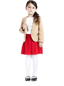 Chloe - Toddler's & Little Girl's Twill Blazer