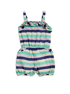 Splendid - Toddler's & Little Girl's Striped Shortall