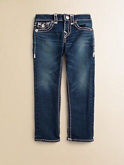 True Religion - Toddler's & Little Girl's Julie Skinny Super T Jeans